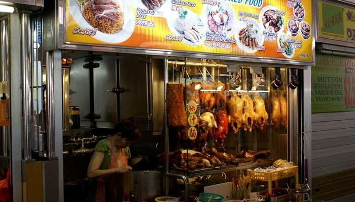 Grab The Delicacies At Changi Beach