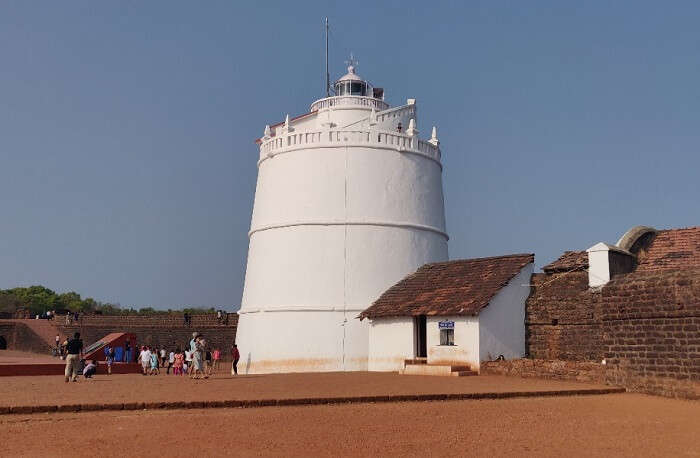 visited the Fort Aguada