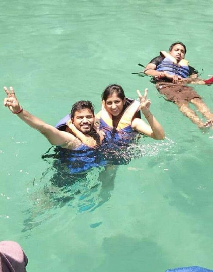 indulge in water activities