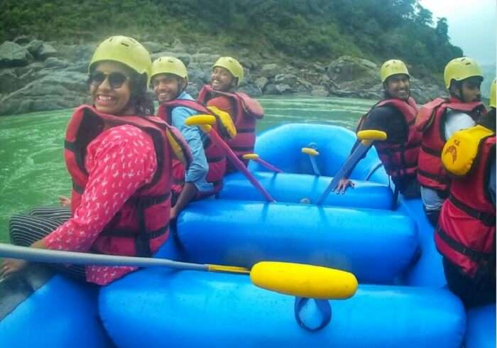 adventure and thrilling rafting