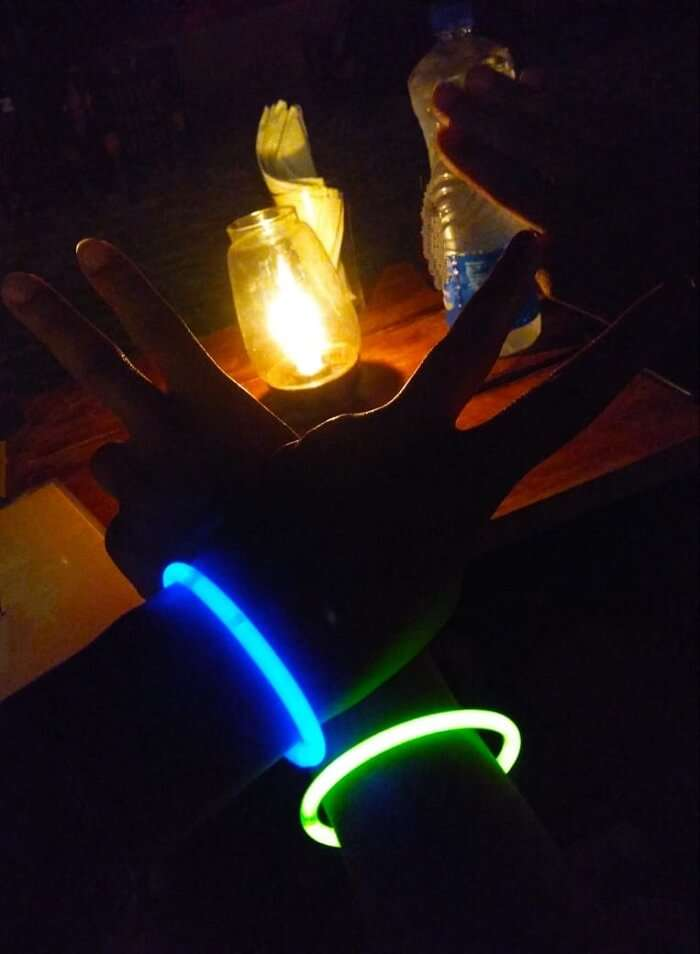 having fun with this lighting bangles