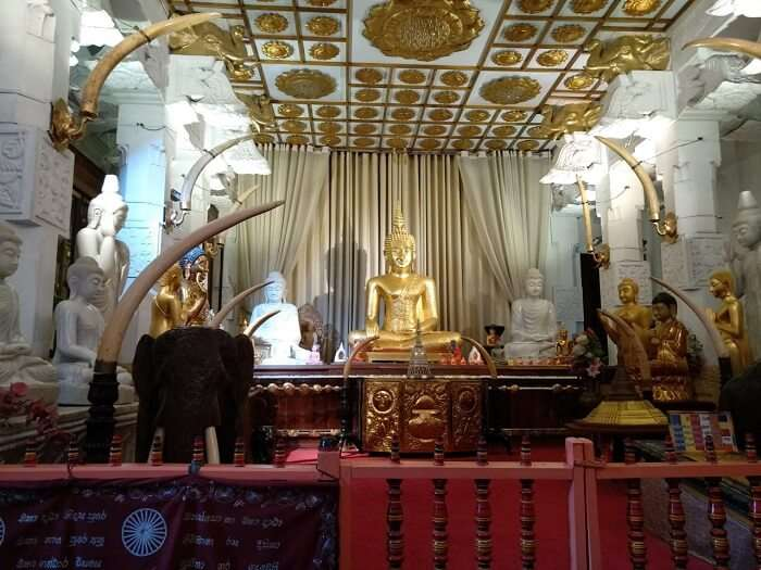 visited the Temple of Tooth Relic
