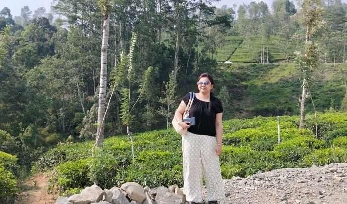 visited the picturesque tea estate