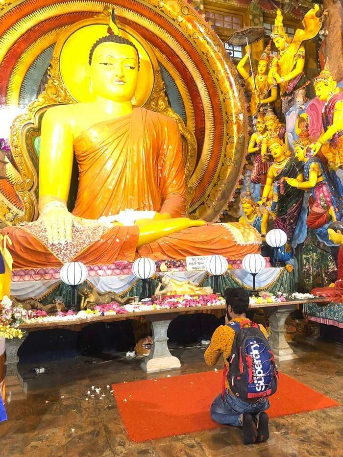 visited to the Gangaramaya Temple