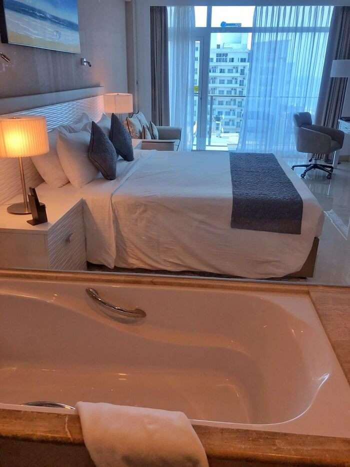 an ultra luxurious staycation