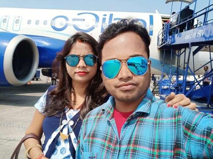 Arrived at Goa