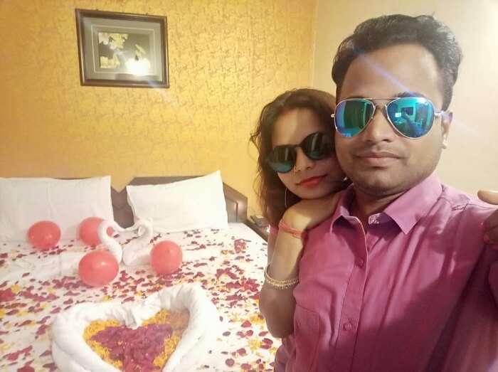 our honeymoon suites