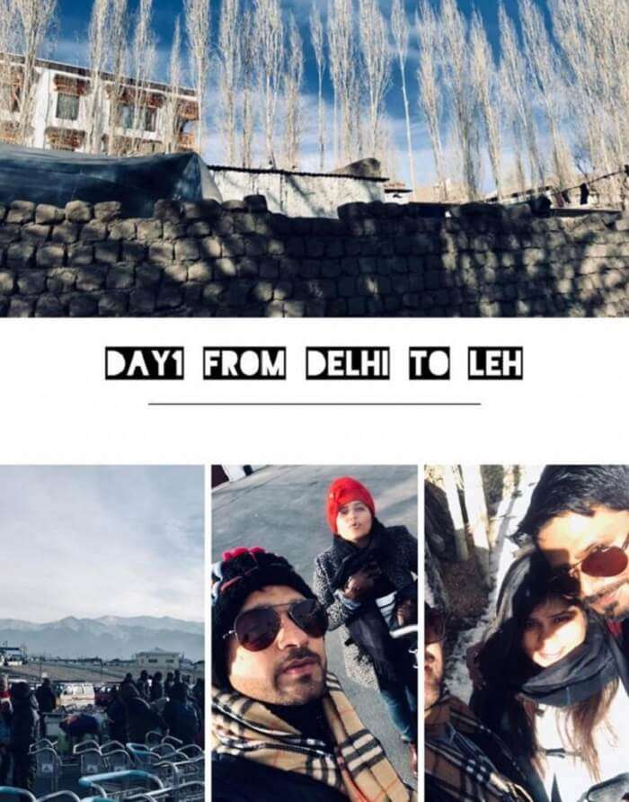 Delhi to Leh