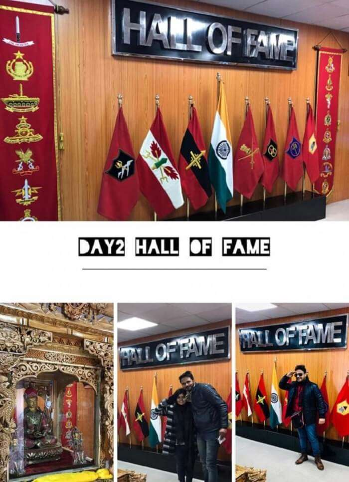 visited to the hall of fame