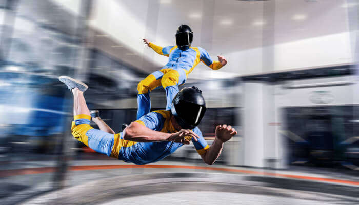 Indoor Sky Diving