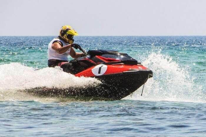 Jet skiing might take your adrenaline up a notch