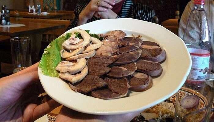 Food Festival In Kazakhistan