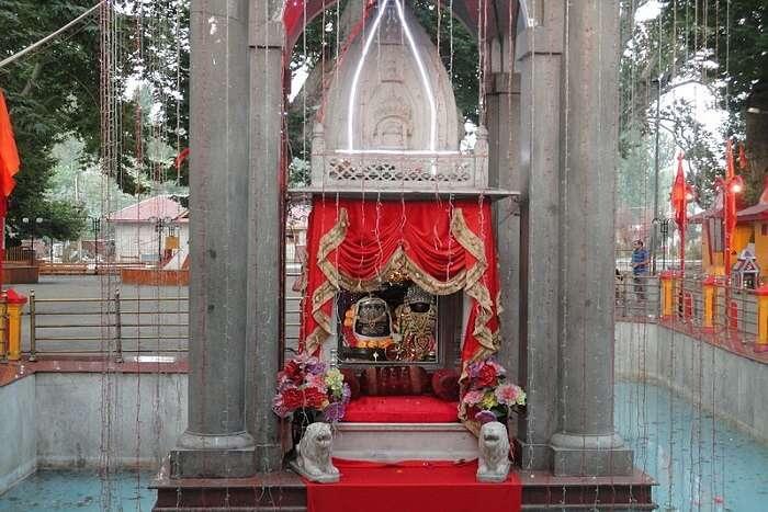 temple in Kashmir