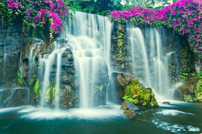 It is the most beautiful waterfall and spring