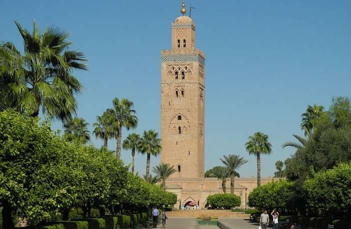 Koutoubia Mosque View