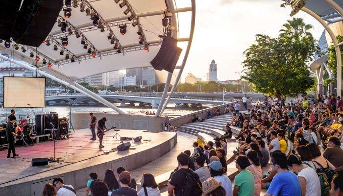 Live Music At Esplanade