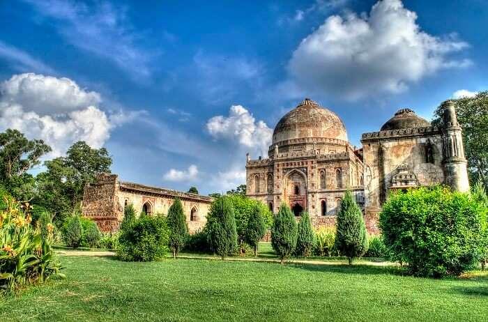 Lodi Garden, a popular Delhi tourist attraction