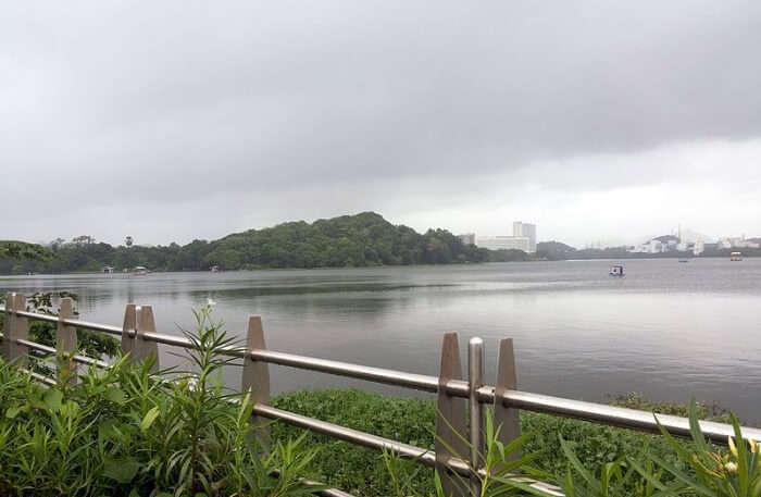 Powai lake View