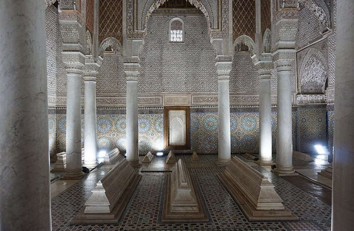 Saadian Tombs View