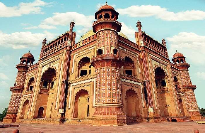 Monumental tomb garden of the Mughals