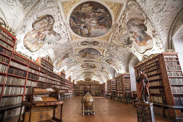Strahov Monastery Library