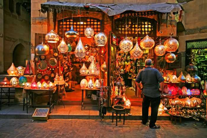 old market in cairo