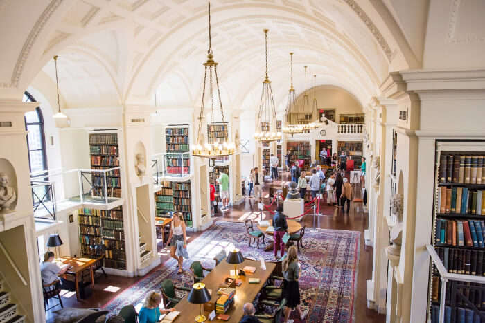 The Boston Athenaeum