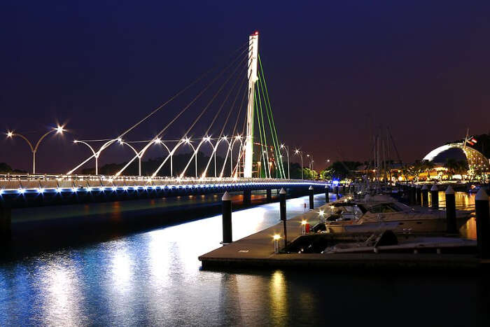 The Keppel Bay Bridge