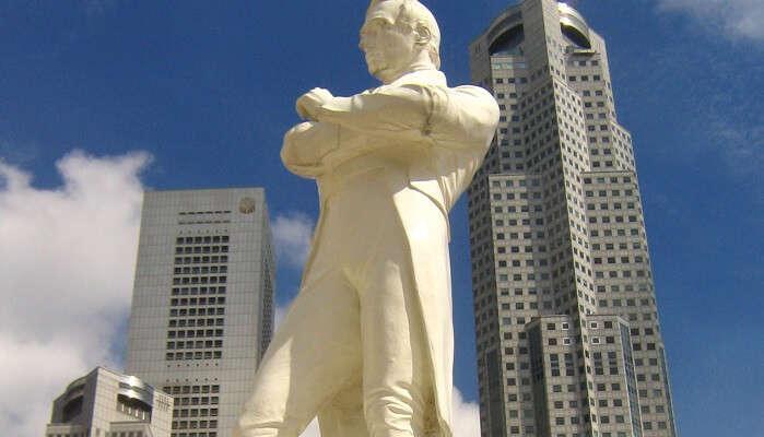 The Statue Of Raffles