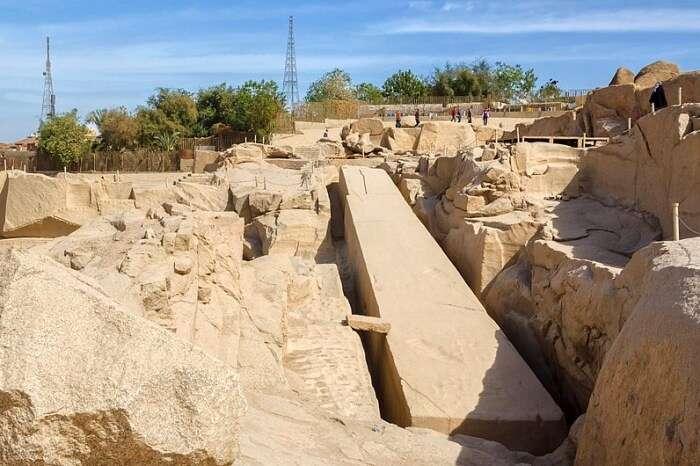 Aswan's Northern Quarry