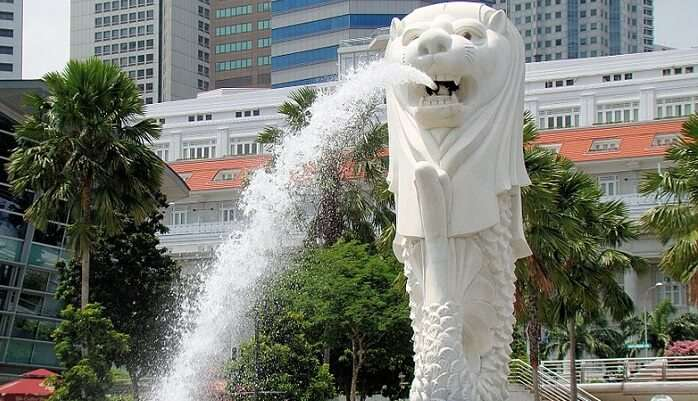 Visit The Merlion Park