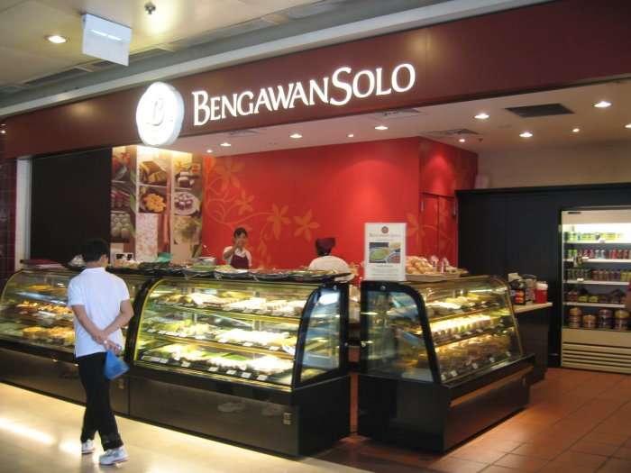 view of bengawan bakery