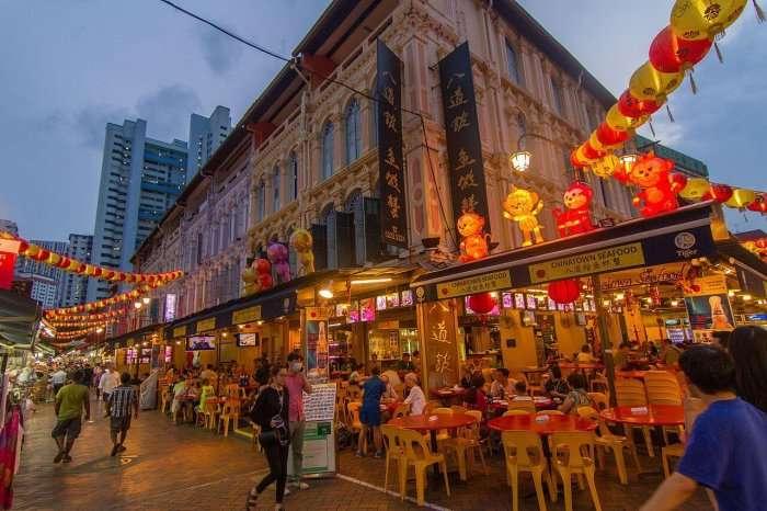hawker market chinatown