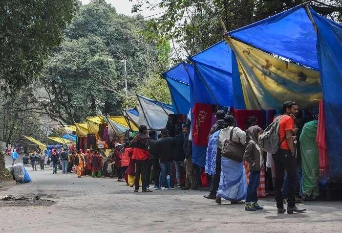 market in darjeeling