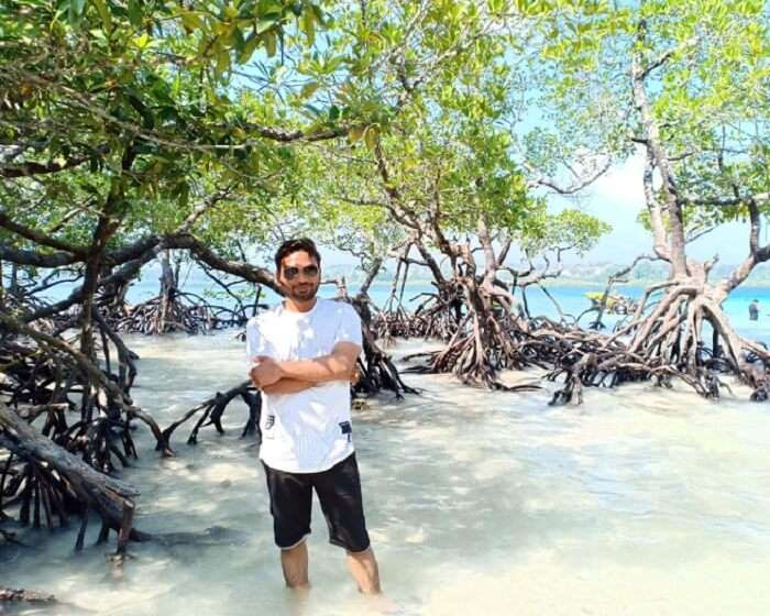 at Havelock Island