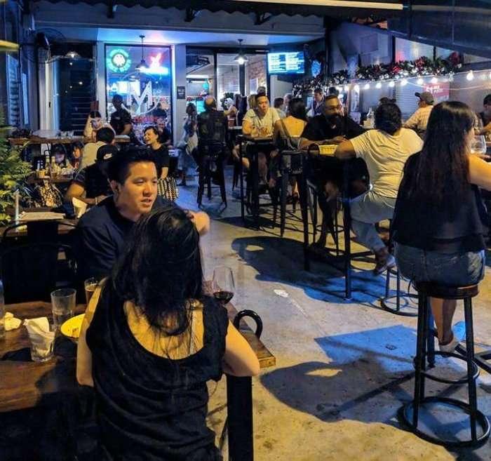 beer garden in singapore
