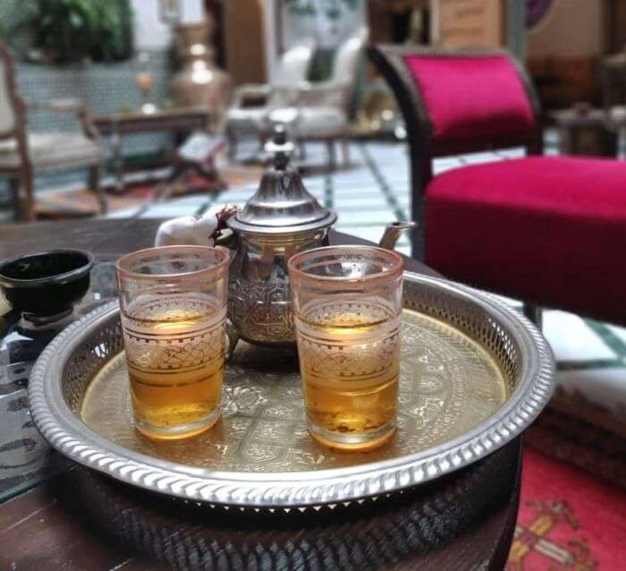 moroccon mint tea