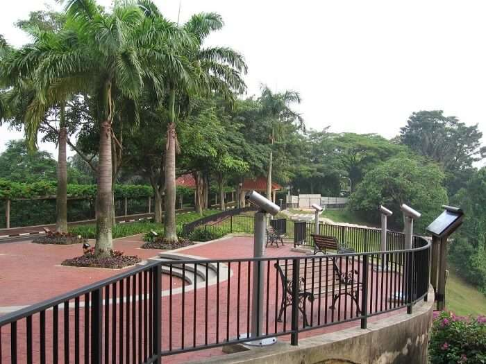 mount faber park in singapore