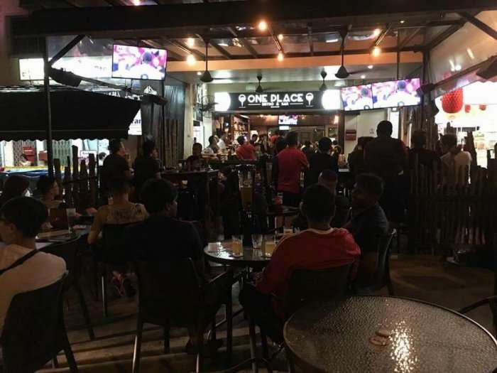 bar and bistro in singapore