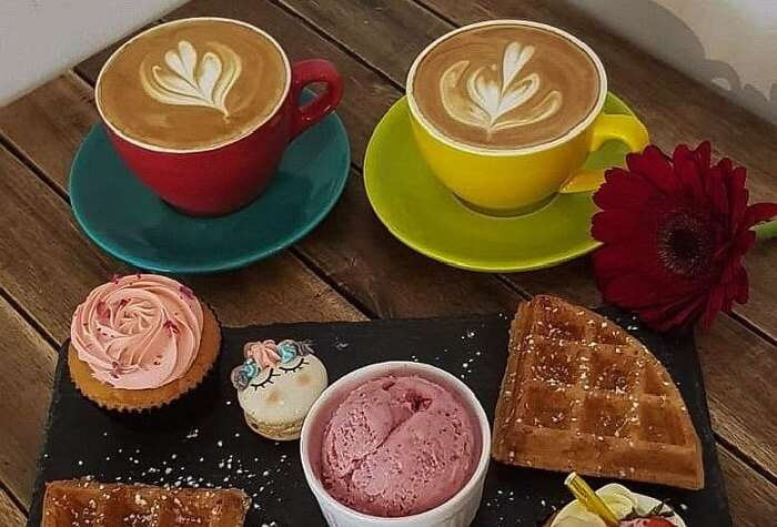 cafe ice cream