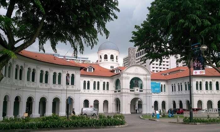building of singapore art museum