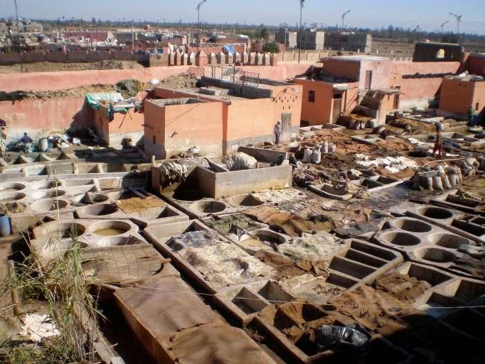 leather workshops in Marrakesh