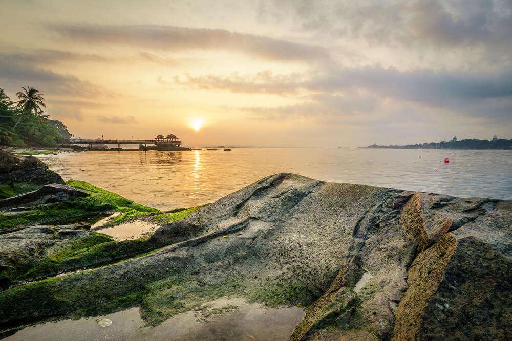 Sunset in Pulau Ubin