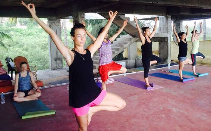 yoga in south goa