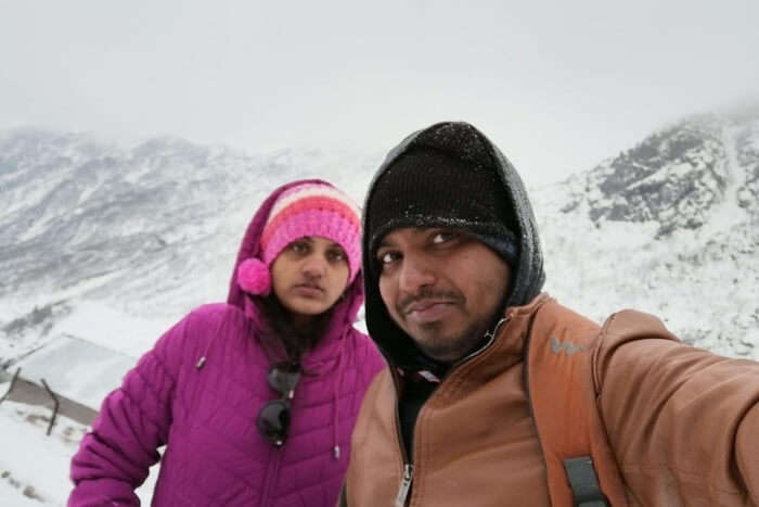 Cover - Vidhya's Honeymoon Trip To Gangtok