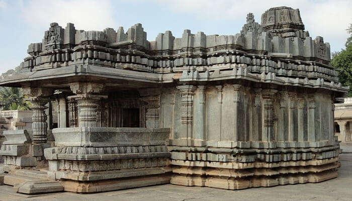 Akkana Basadi In Shravanabelagola