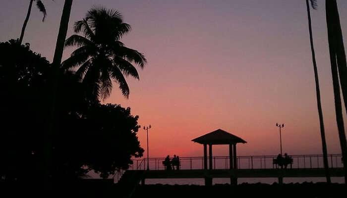 Andhakaranazhi Beach Kerala
