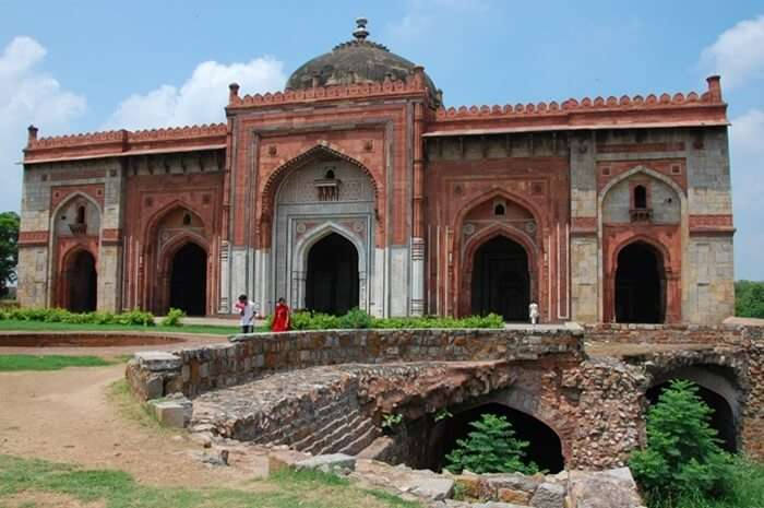 Architectural Style Of Purana Qila