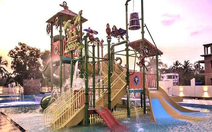 Aryaan Waterpark View