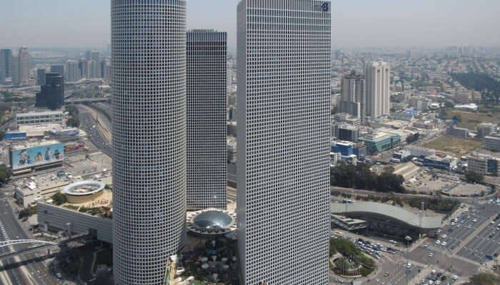 Azrieli Mall View